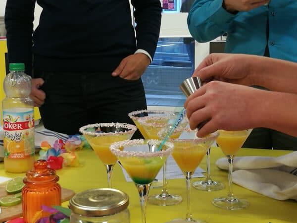 Duels de cocktails - une marguerite