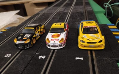 Slot car gaming