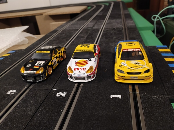 Slot car gaming - Voiture