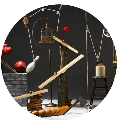 Machine Rube Goldberg