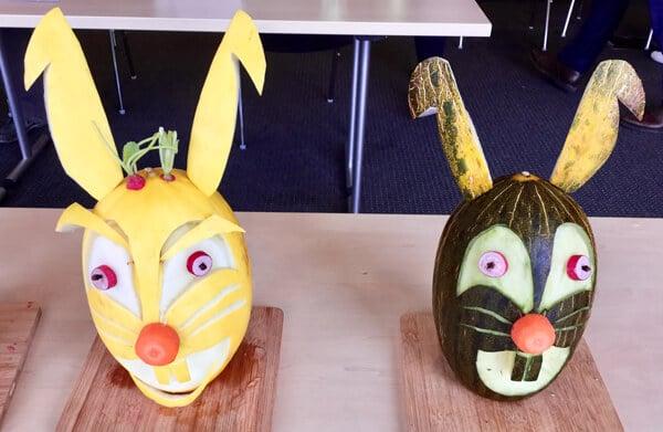 Carving gourmand d'été - Sculpture de légumes